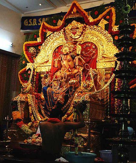 GSB Samaj Ganpati Pandal.