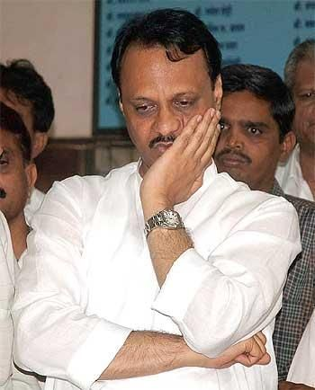 NCP leader Ajit Pawar