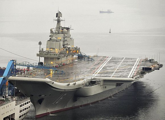China gets its first aircraft carrier