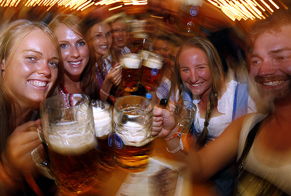 In PHOTOS: Smashing fun at World's largest BEER party