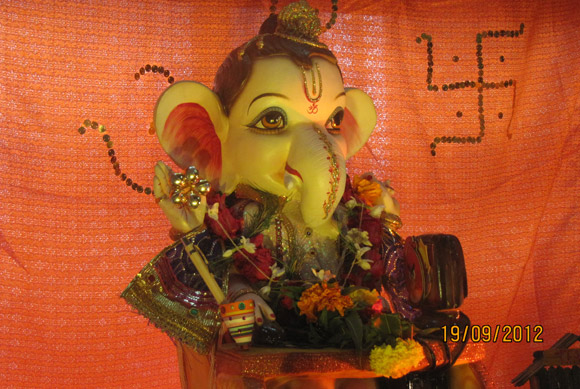 Ganeshotsav: Readers' PHOTOS from Dombivli to Nigeria