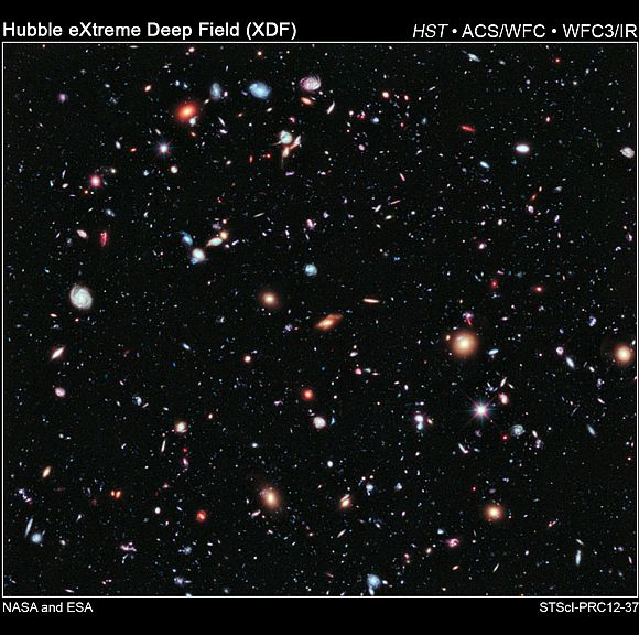 Like photographers assembling a portfolio of best shots, astronomers have assembled a new, improved portrait of mankind's deepest-ever view of the universe.