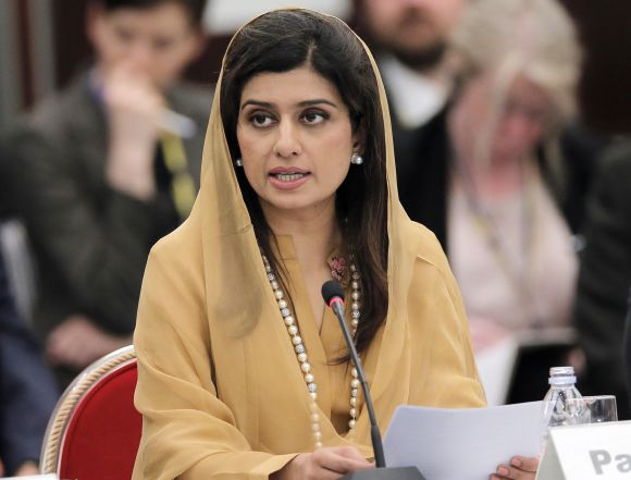 Pakistan Foreign Minister Hina Rabbani Khar