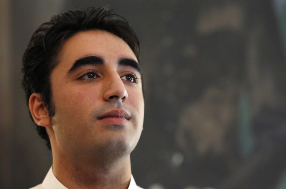 Bilawal Bhutto, son of Pakistan President Asif Ali Zardari