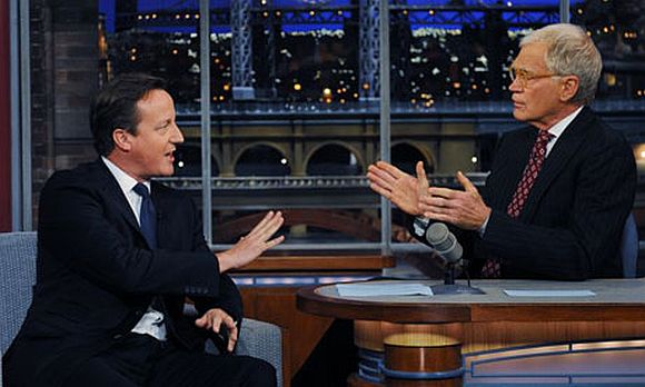 British PM flunks 'citizenship test' on David Letterman's show