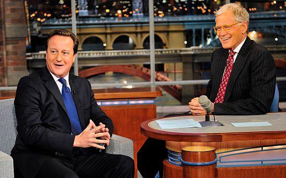 British PM flunks 'citizenship test' on Letterman's show