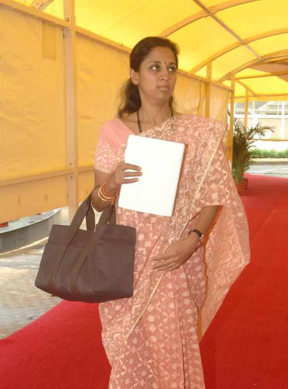 Sharad Pawar's daughter Supriya Sule