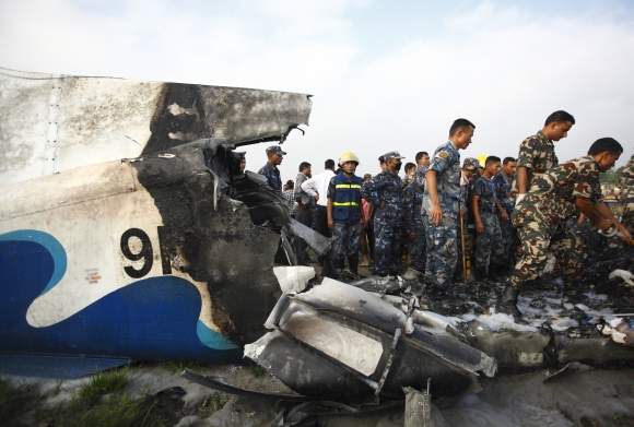 Nepal plane crashes minutes after take-off