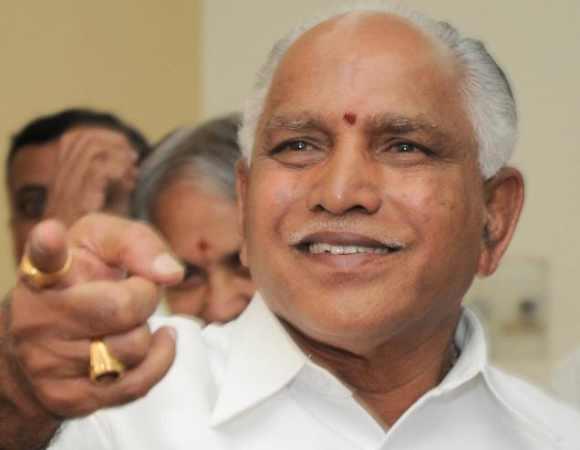 Former chief minister B S Yeddyurrappa