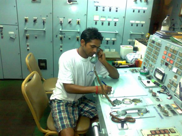 Junior electrical officer Rakesh Kumar