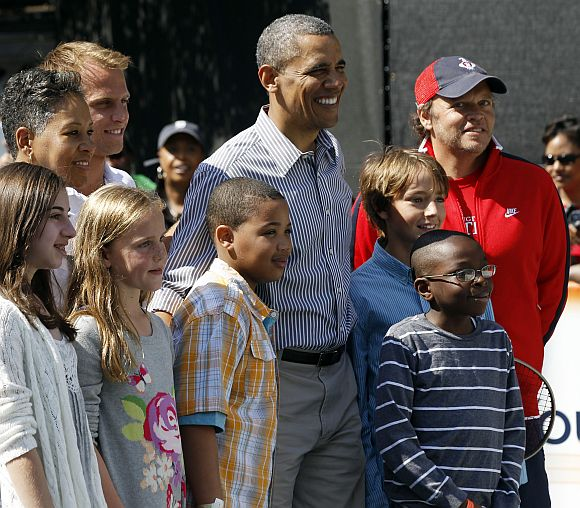 Obamas let the Easter Egg Roll @ White House