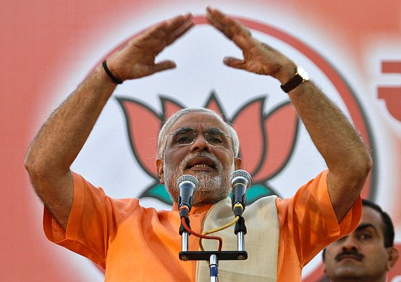 Modi: I want to repay my debt to Mother India