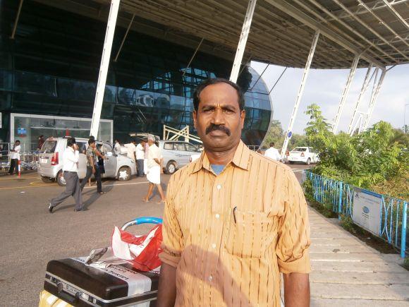 Mohanan Krishnan has been working in Saudi Arabia for 15 years