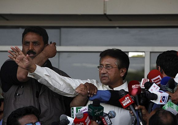 'It seems Musharraf is taken