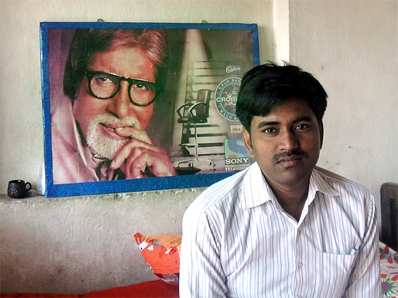 Sushil Kumar, the first to win Rs 5 crore on KBC, at his home in Motihari, Bihar