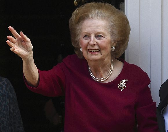 British Iron Lady Margaret Thatcher dies after stroke