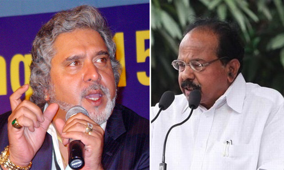 Petroleum Minister Veerappa Moily has no time for Vijay Mallya.