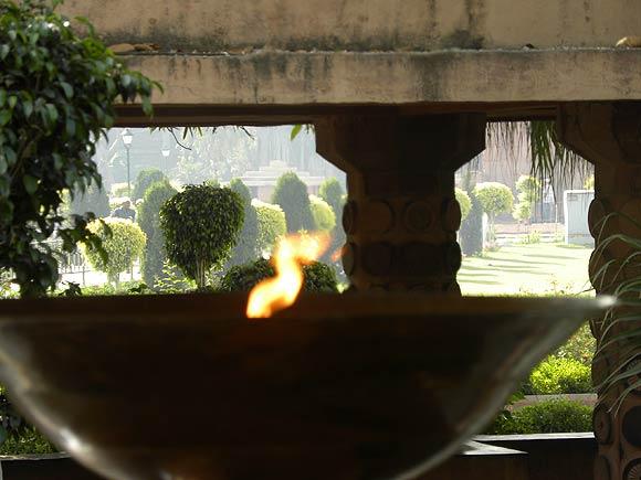 The Amar Jyoti Deep at Jallianwala Bagh