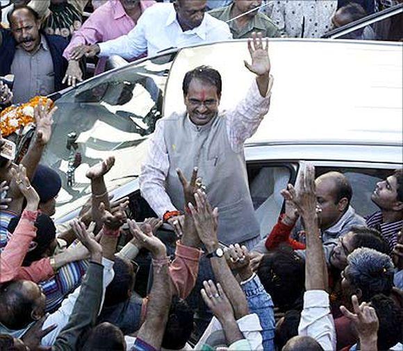 Madhya Pradesh Chief Minister Shivraj Singh Chauhan