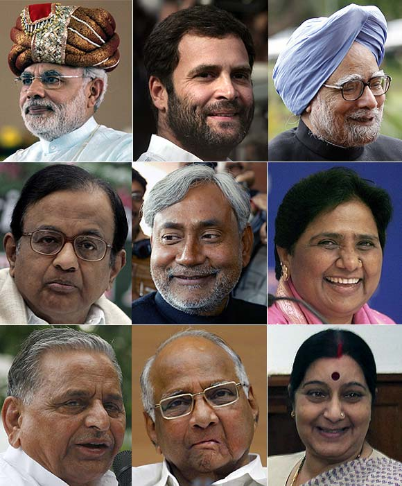 Rediff Ballot: Who should be India's next PM?