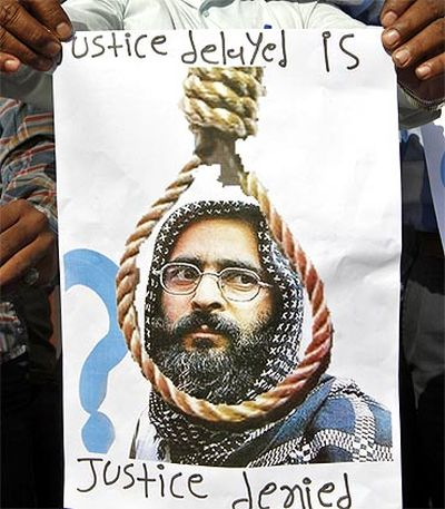 Afzal Guru was executed for his role in the 2001 attack on Parliament