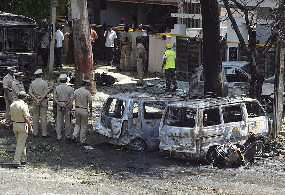 Retired telecom staffer owned bike used in Bengaluru blast