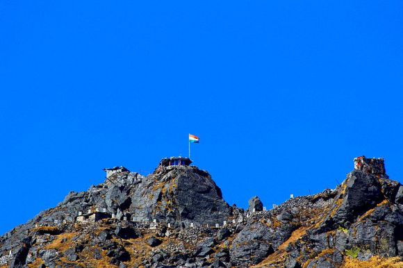 The Nathu La border post