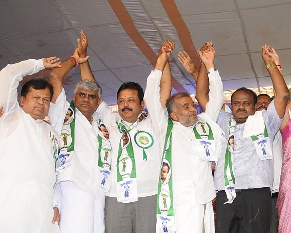 Nobody can challenge H D Kumaraswamy here!