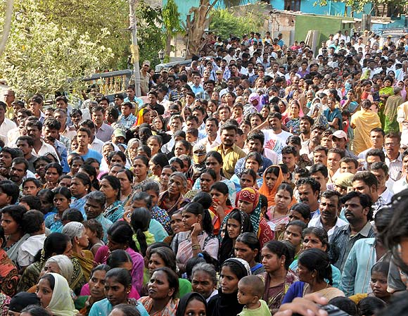 A Congress rally in Bellary