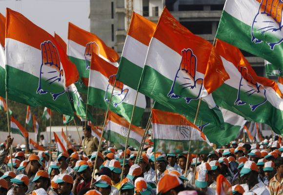 The Congress is set to get estimated 117-129 seats in the 224-member assembly