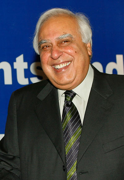 Kapil Sibal has been spotted at several Urdu mushairas.