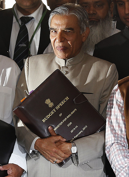For now, Pawan Bansal is blaming the BJP for his woes.