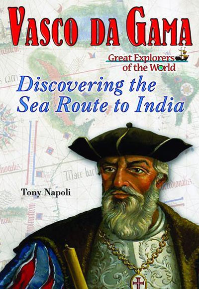 The cover of Tony Napoli's book on Vasco Da Gama.