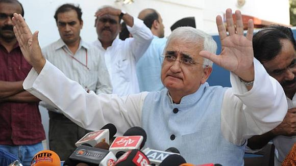 SATIRE: Being Salman... Khurshid