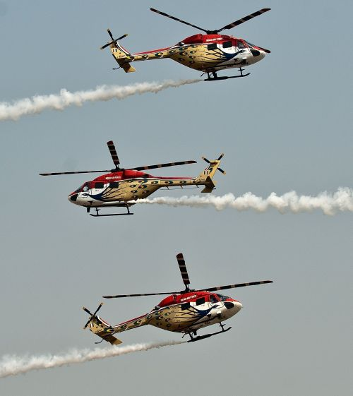 Dhruv Advanced Light Helicopters