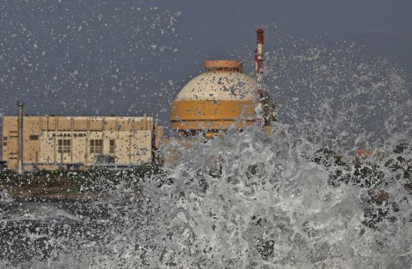 Kudankulam nuclear power project plant in Tamil Nadu