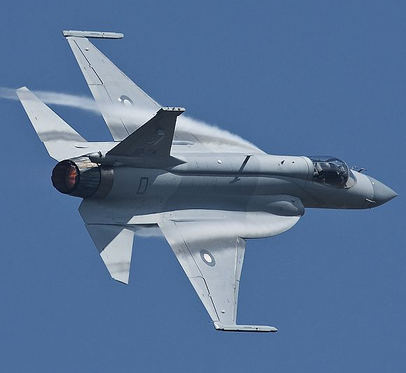 Pakistan Air Force's JF-17 aircraft