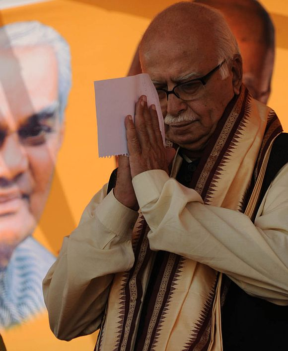 SATIRE: So what's Advani up to these days?