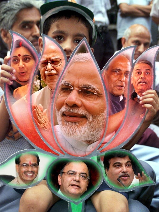 BJP's prime ministerial Dashavatar