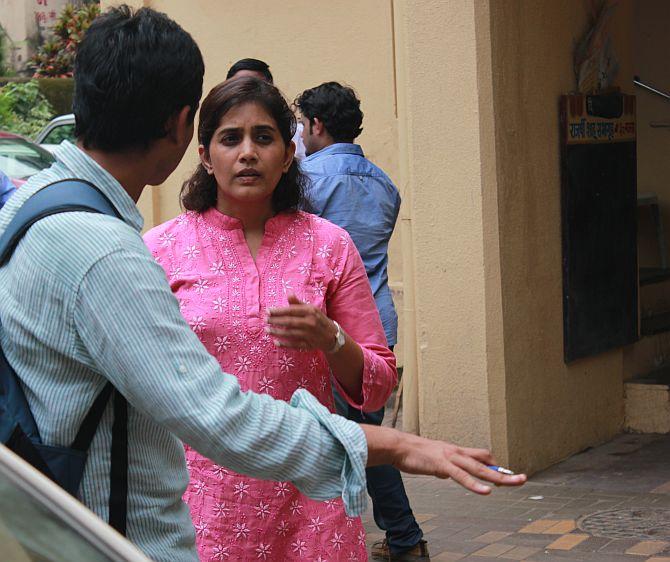 Actress Sonali Kulkarni