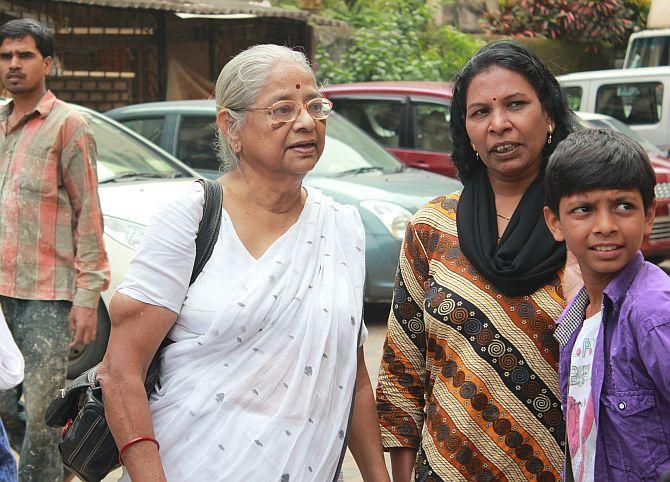 Social activist Pushpa Bhave