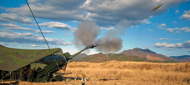 The M777 ultra-light howitzer