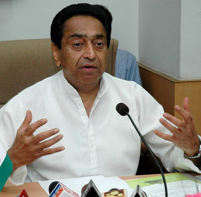Parliamentary Affairs Minister Kamal Nath