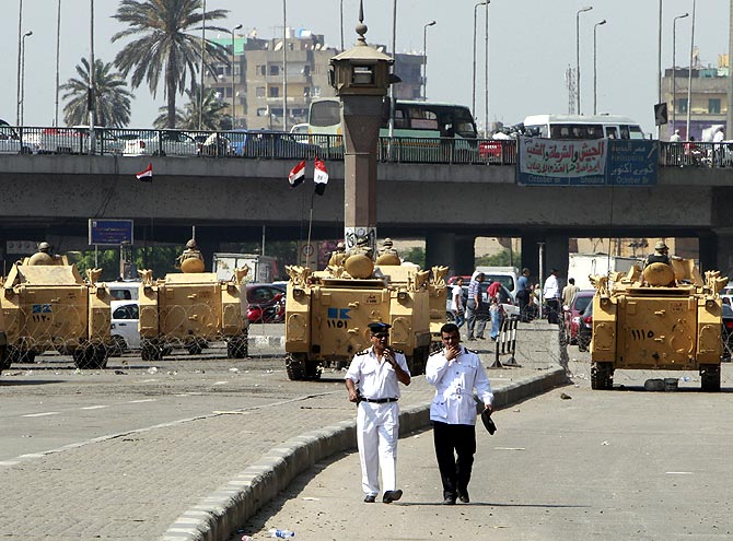 It is a WAR out there in Egypt