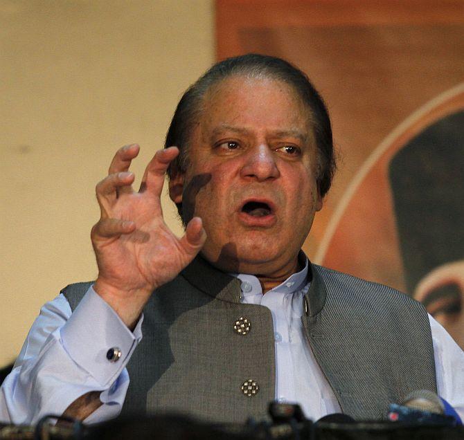 Pakistan Prime Minister Nawaz Sharif