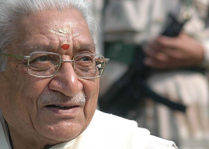 Vishwa Hindu Parishad chief Ashok Singhal