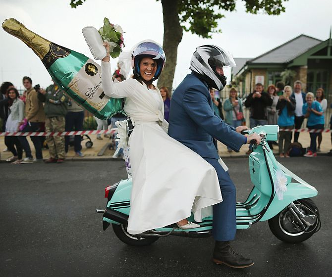 Inside world's largest scooter festival