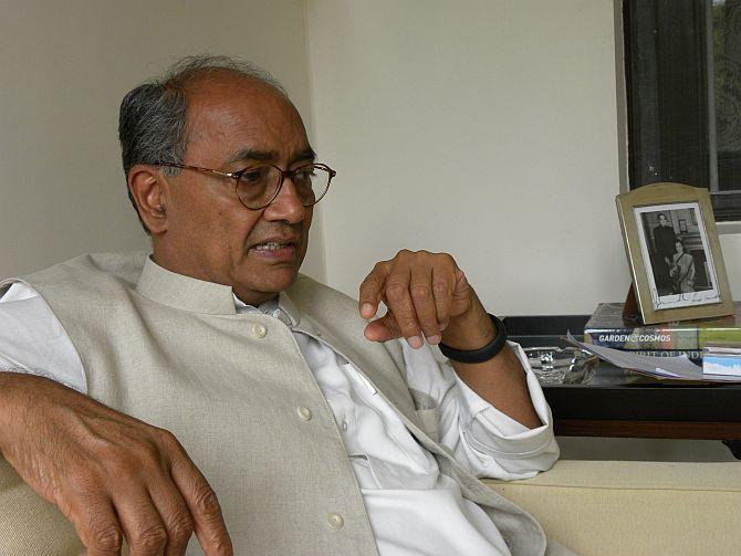 Congress leader Digvijaya Singh
