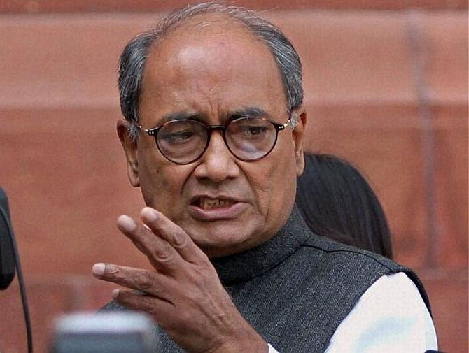 Why Digvijaya Singh is upset with Rahul Gandhi