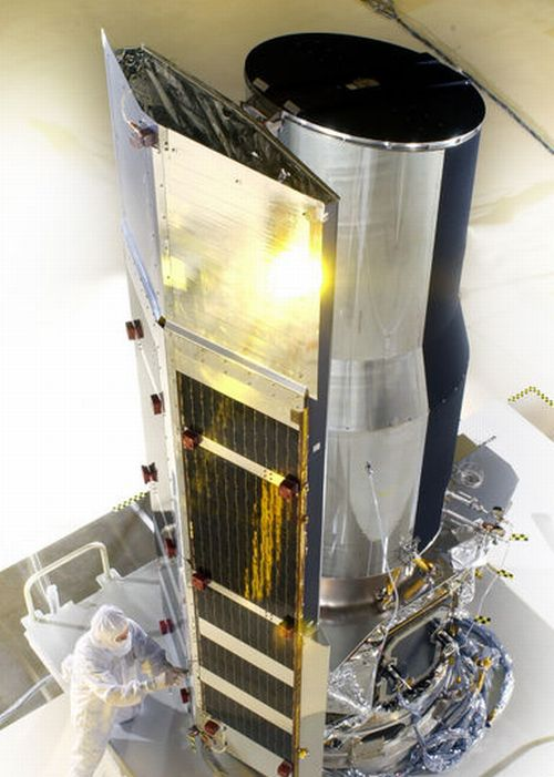 The Spitzer Space Telescope prior to launch